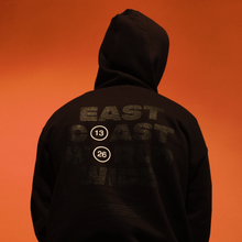 "GRVTY ""East Coast Worldwide"" Hooded Sweatshirt (Black) - GRVTY"