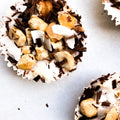 HAZELNUT + COCONUT BUTTER BOMBS