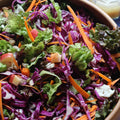 Apple Cabbage Slaw with Coconut Cider Vinaigrette
