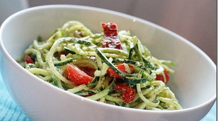Recipes tagged raw foods and snacks coconut magic raw zucchini pasta with kelp noodles forumfinder Gallery