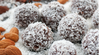 Healthy Coconut Lamington Balls