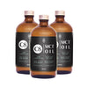 Caprylic Acid (C8) Coconut MCT Oil - Brain Power 480ml x 3