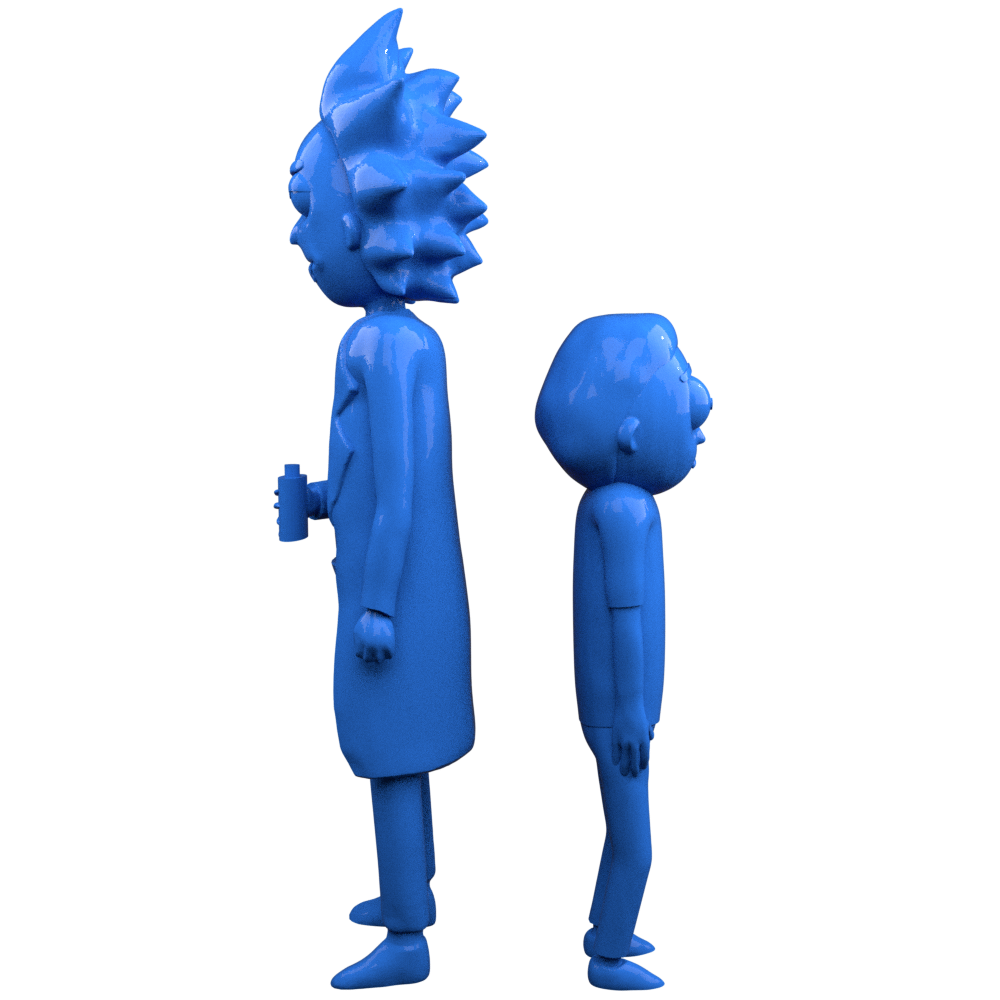 Pack Figurines Rick & Morty