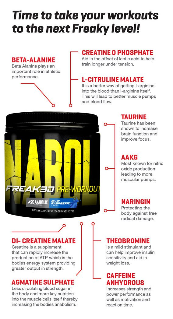 Anabolix Freak3d Pre Workout