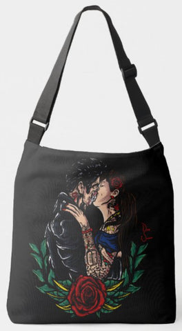 Decaying Couple Tote Bag