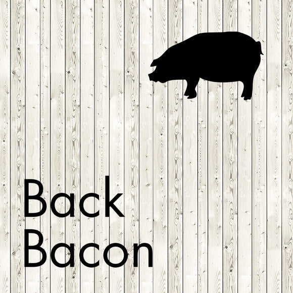 back bacon