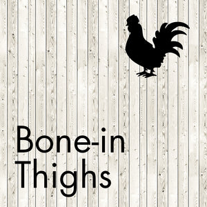 bone-in thighs