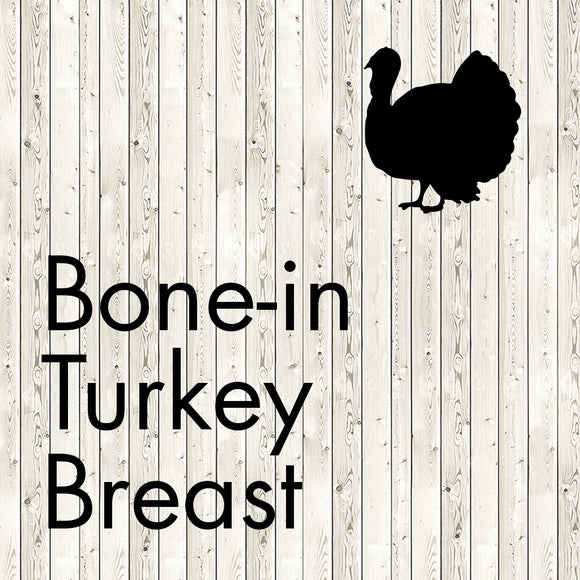 bone-in turkey breast
