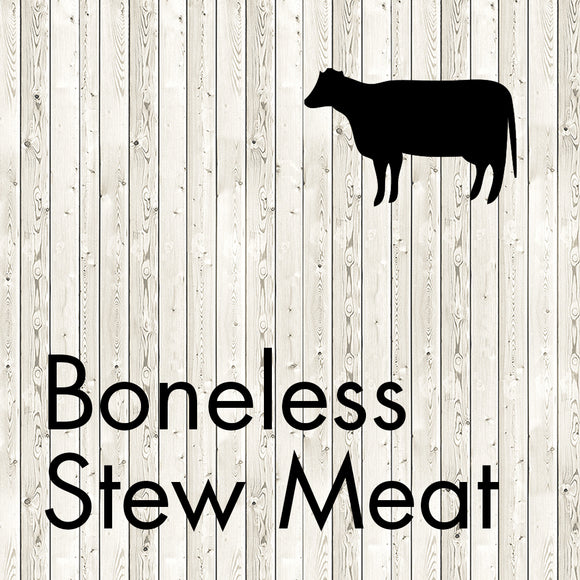 boneless stew meat