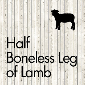 half boneless leg of ham