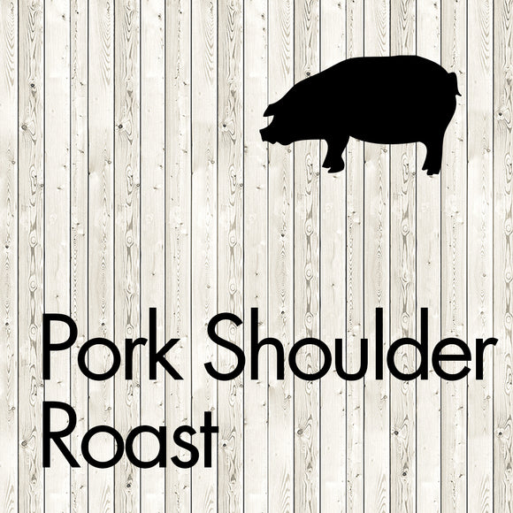 pork shoulder roast