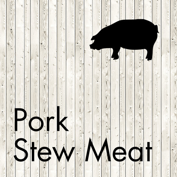 pork stew meat