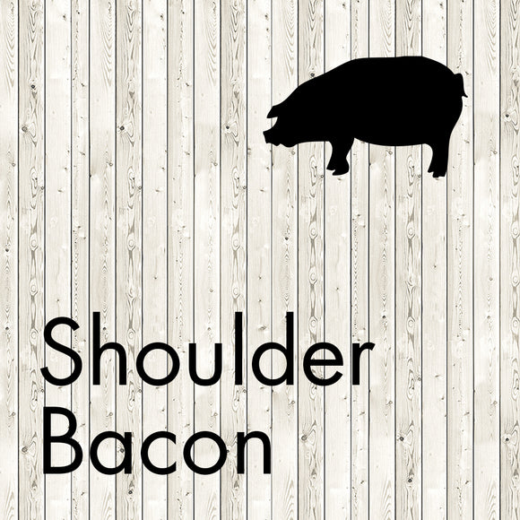 shoulder bacon