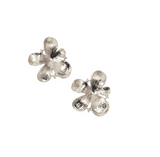 Silver Flower Earring