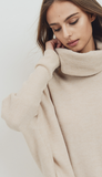 Kate Turtleneck - Oatmeal