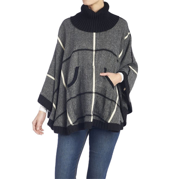 Hunter Trim Poncho - One Size