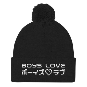 Boys Love - Beanie - Black