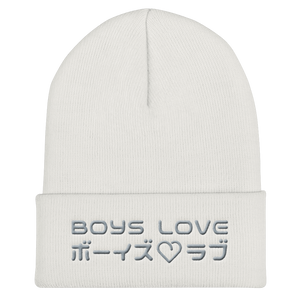 Boys Love - Beanie - White