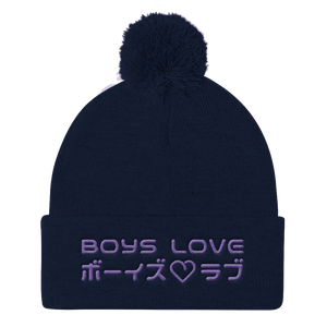Boys Love - Beanie - Navy