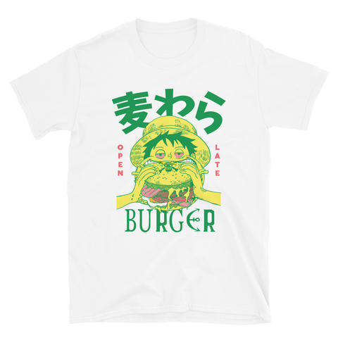 Mugiwara Burger x Super Snacks - White