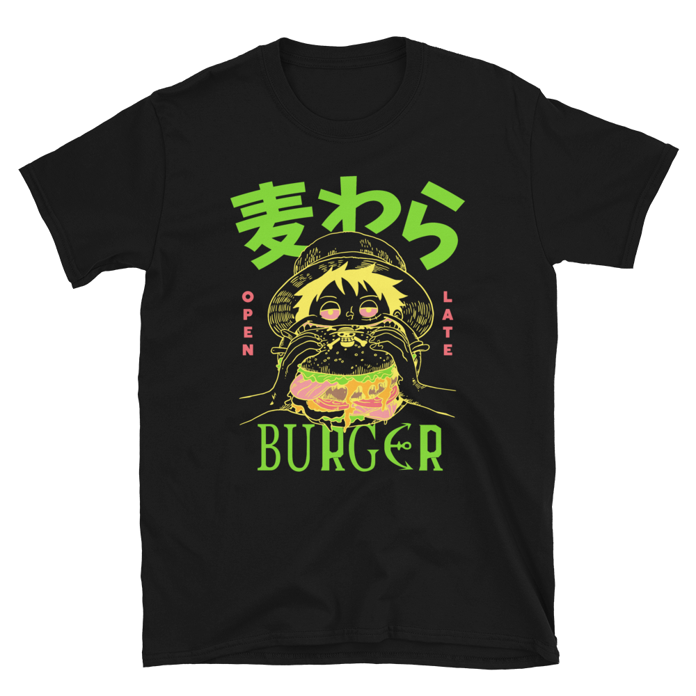 Mugiwara Burger x Super Snacks - Black