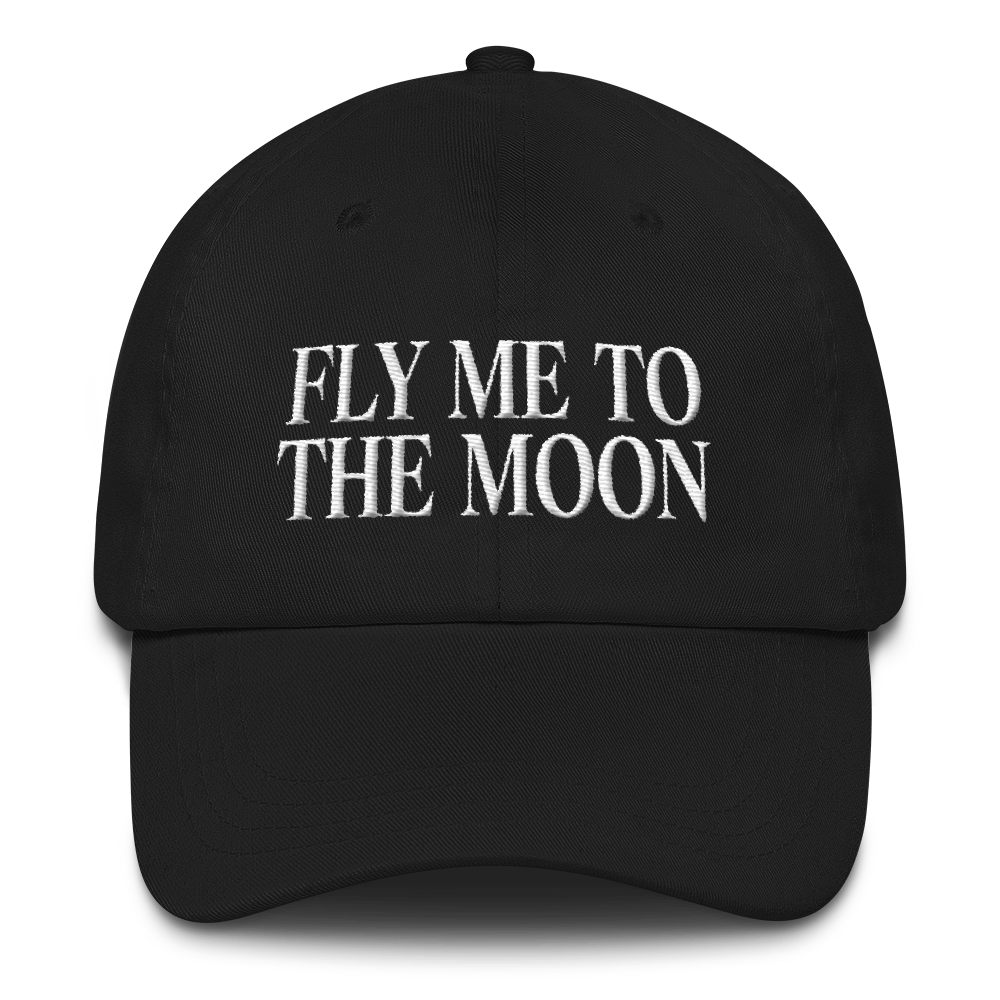 Fly Me To The Moon - Black