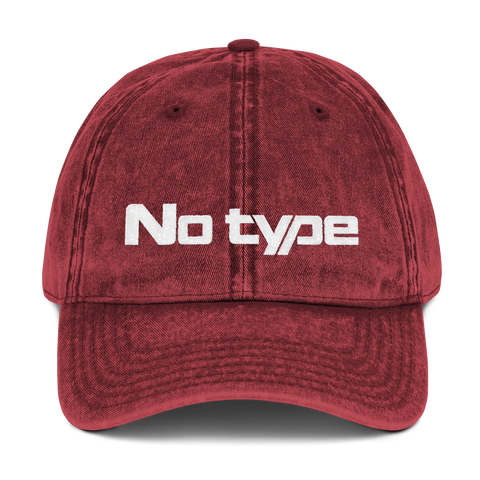 No Type - New Type - Cap