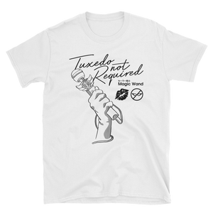 Tuxedo Not Required - White Tee
