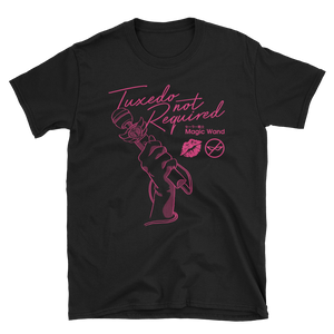 Tuxedo Not Required - Black Tee