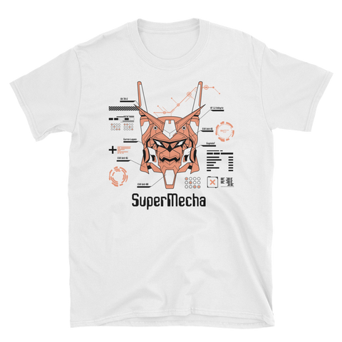 Super Mecha - White Tee