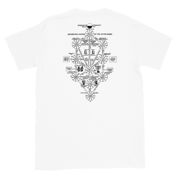 Neon Genesis - Lilith Tree of Life - White Short Sleeve