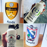 Personalised Water Bottle.