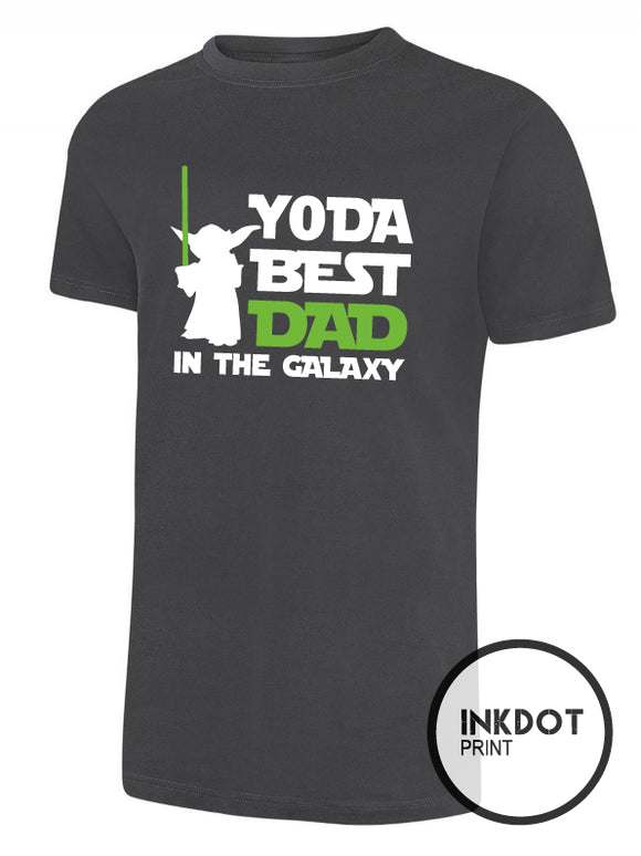 Yoda Best Dad in the Galaxy T-Shirt