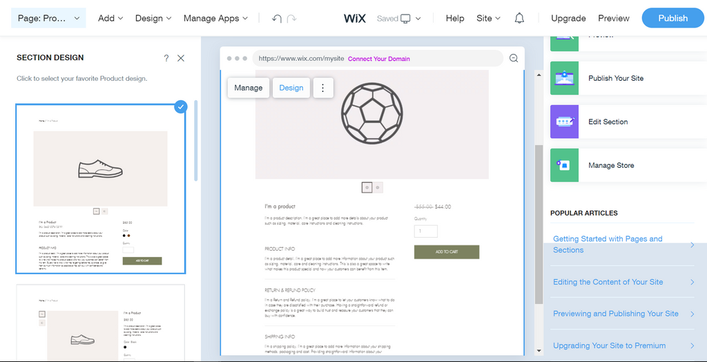 wix vs shopify onboarding process