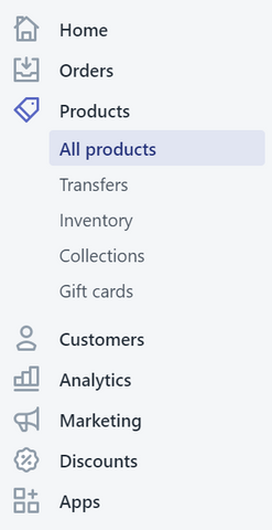products-shopify