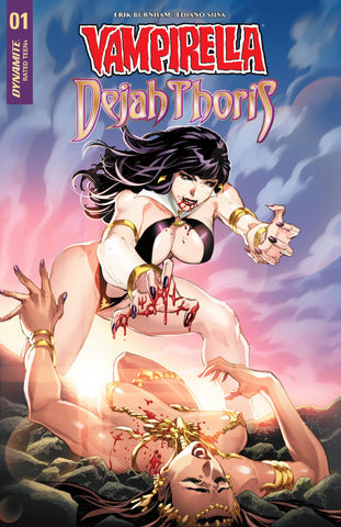 Vampirella Dejah Thoris #1 Philip Tan