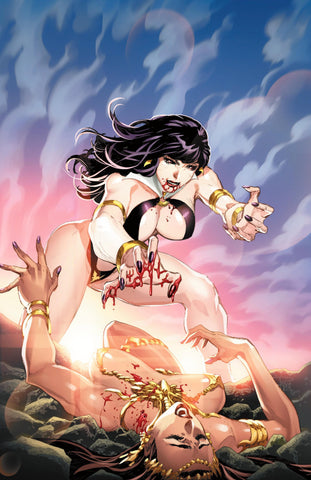Vampirella Dejah Thoris #1 Philip Tan VIRGIN