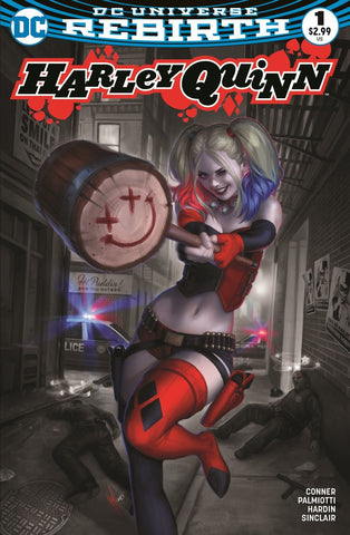 Harley Quinn #1 Rebirth - Exclusive Variant