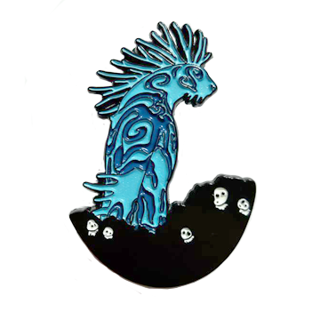 Princess Mononoke Nightwalker Pin