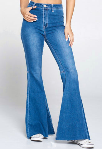 Super flare jeans