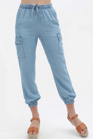 Tencel joggers pants
