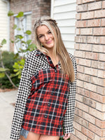 Plaid buffalo shirt