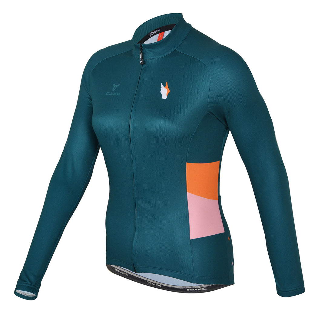 Angels L/Sleeve Cycling Jersey