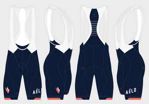 Women's Navy Base Bib Shorts