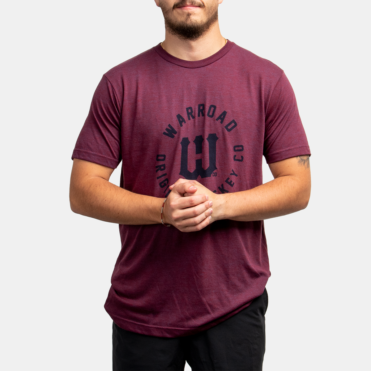 Warroad Player Collection Tee - Berry