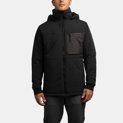 ZIP INSULATOR - BLACK