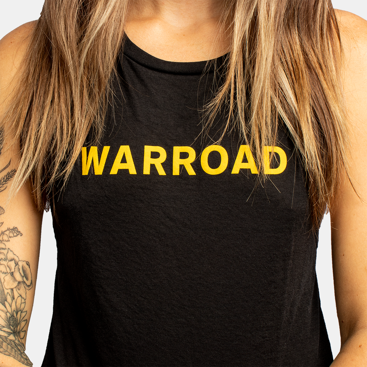 Women's Muscle Tank - Black