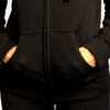 Women's Zip-Up Hoodie - Black
