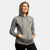 Women's Zip-Up Hoodie - Heather