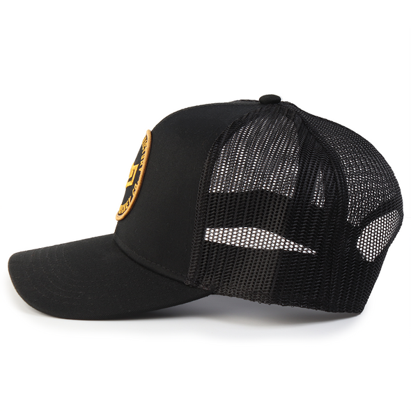 Seeking Victory Patch Hat Black